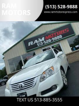 2008 Toyota Avalon for sale at RAM MOTORS in Cincinnati OH
