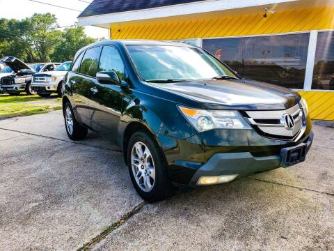 2007 Acura MDX for sale at THE COLISEUM MOTORS in Pensacola FL