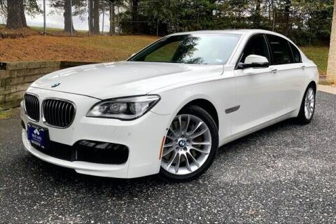 2015 BMW 7 Series for sale at TRUST AUTO in Sykesville MD