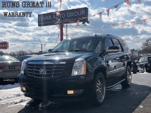 2008 Cadillac Escalade for sale at Divan Auto Group in Feasterville PA