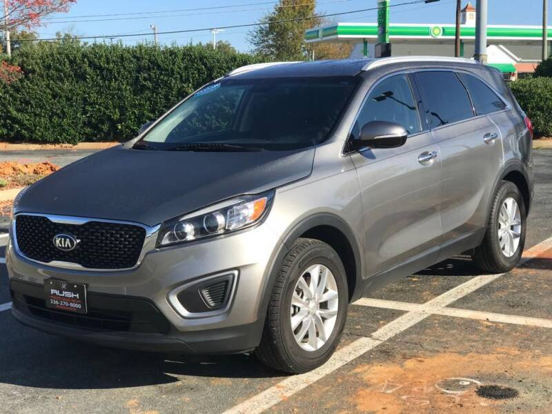 2016 Kia Sorento for sale at RUSH AUTO SALES in Burlington NC