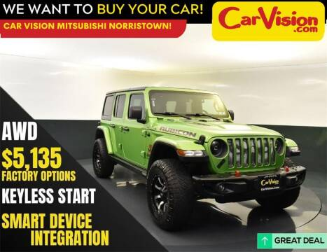 2018 Jeep Wrangler Unlimited for sale at Car Vision Mitsubishi Norristown in Norristown PA