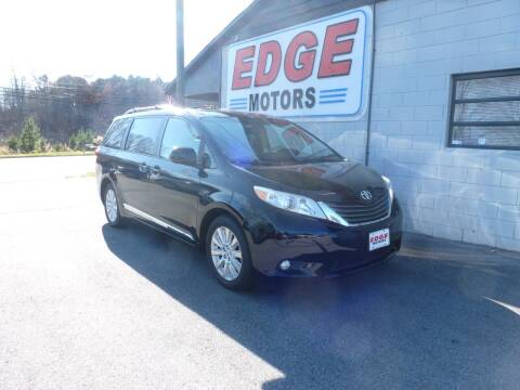 2013 Toyota Sienna for sale at Edge Motors in Mooresville NC