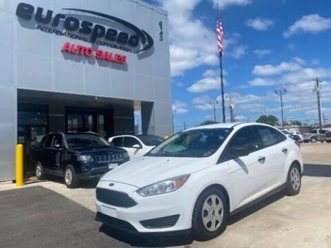 2016 Ford Focus for sale at Eurospeed International in San Antonio TX