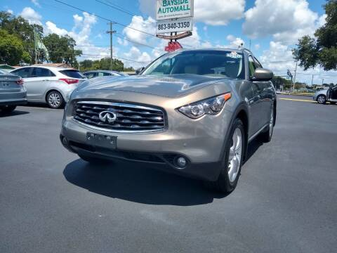 2010 Infiniti FX35 for sale at BAYSIDE AUTOMALL in Lakeland FL