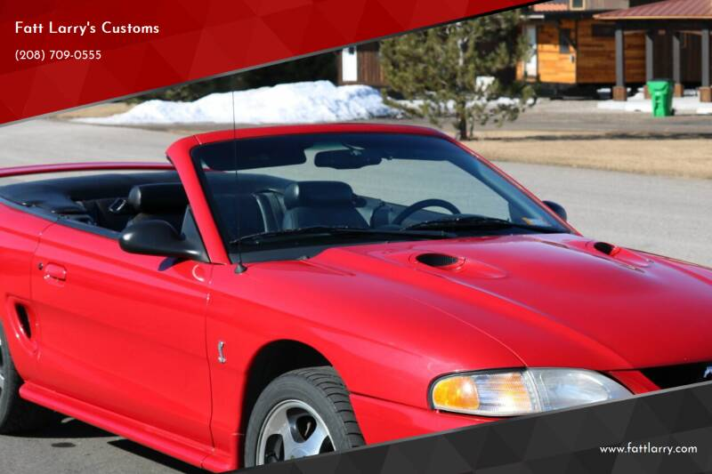 1997 Ford Mustang SVT Cobra for sale at Fatt Larry's Customs - Classics/Projects in Sugar City ID