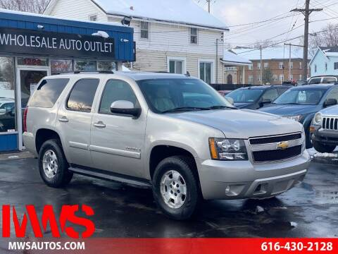 2007 Chevrolet Tahoe for sale at MWS Wholesale  Auto Outlet in Grand Rapids MI
