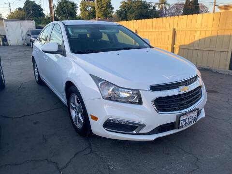 2016 Chevrolet Cruze Limited for sale at Crown Auto Inc in South Gate CA