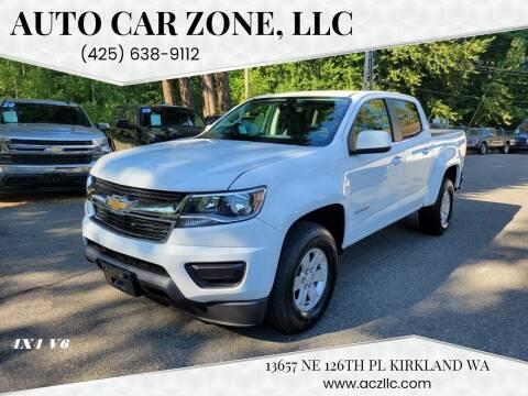 2020 Chevrolet Colorado for sale at Auto Car Zone, LLC in Kirkland WA