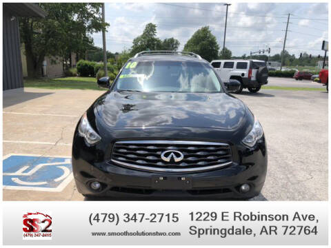 2010 Infiniti FX35 for sale at Smooth Solutions 2 LLC in Springdale AR