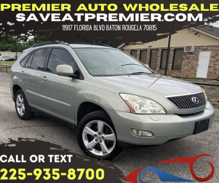 2007 Lexus RX 350 for sale at Premier Auto Wholesale in Baton Rouge LA