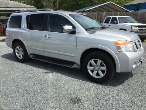2012 Nissan Armada for sale at LAURINBURG AUTO SALES in Laurinburg NC
