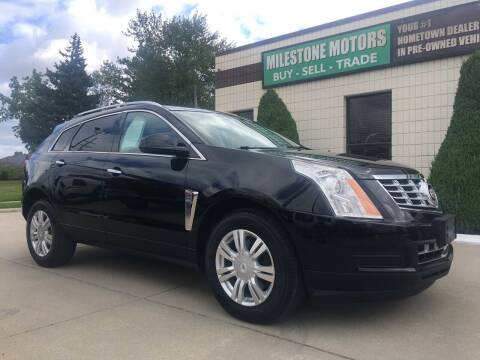 2015 Cadillac SRX for sale at MILESTONE MOTORS in Chesterfield MI