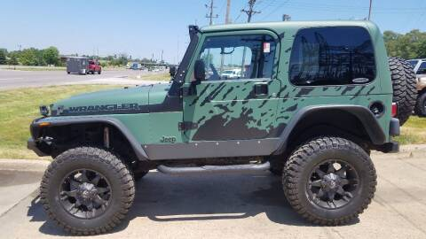 2004 Jeep Wrangler for sale at Downing Auto Sales in Des Moines IA