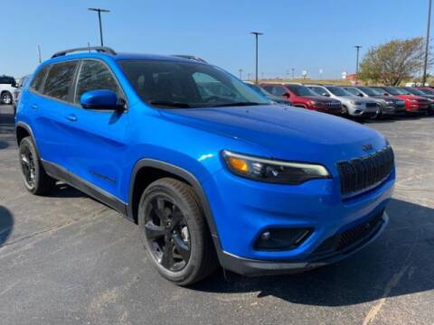 2021 Jeep Cherokee for sale at Vance Fleet Services in Guthrie OK