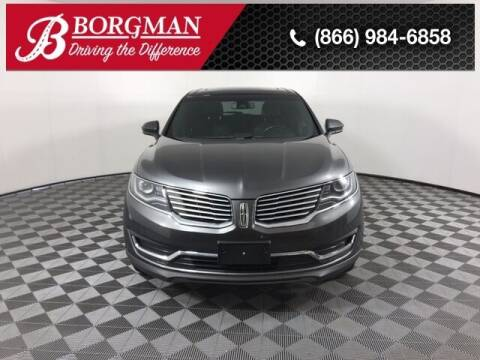 2017 Lincoln MKX for sale at BORGMAN OF HOLLAND LLC in Holland MI