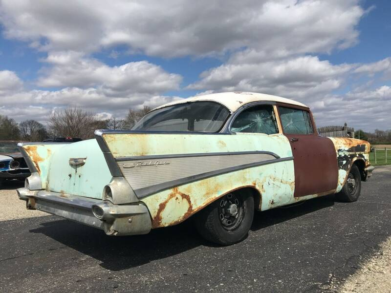 1957 Chevrolet Bel Air for sale at 500 CLASSIC AUTO SALES in Knightstown IN