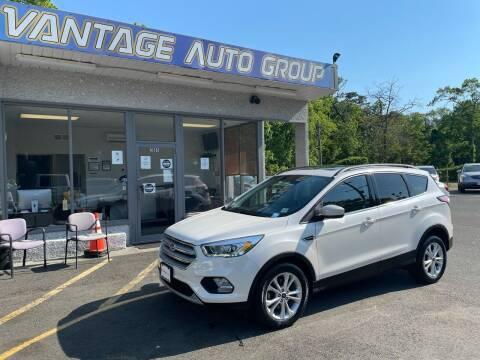 2017 Ford Escape for sale at Vantage Auto Group in Brick NJ