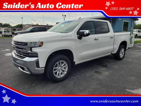 2019 Chevrolet Silverado 1500 for sale at Titus Trucks in Titusville FL