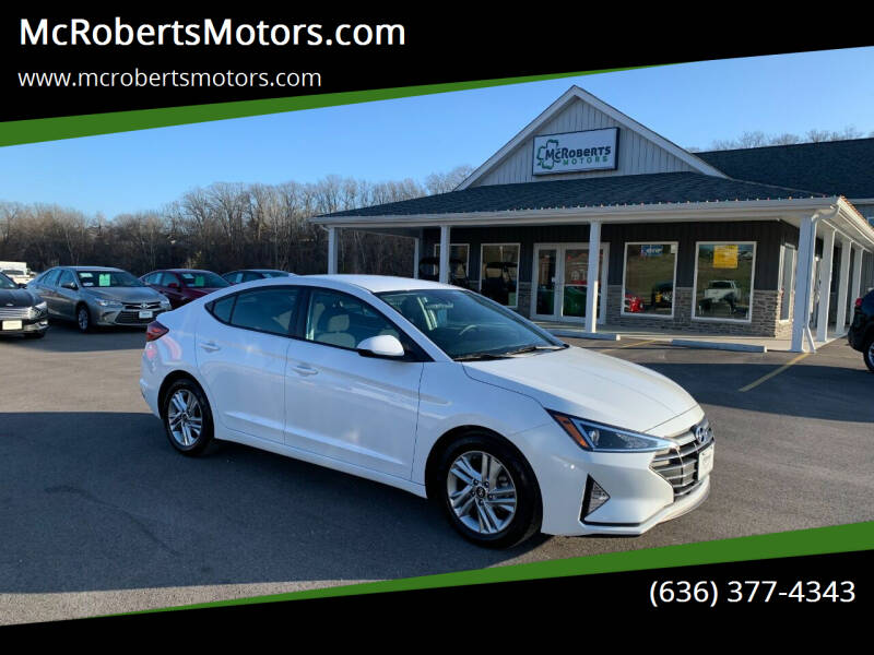 2020 Hyundai Elantra for sale at McRobertsMotors.com in Warrenton MO