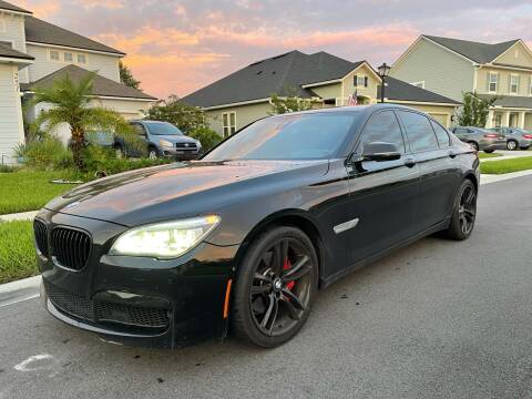 2015 BMW 7 Series for sale at Next Autogas Auto Sales in Jacksonville FL