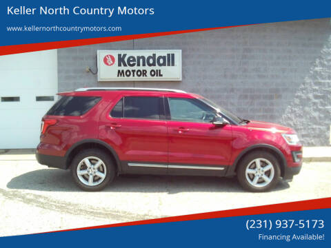 2016 Ford Explorer for sale at Keller North Country Motors in Howard City MI