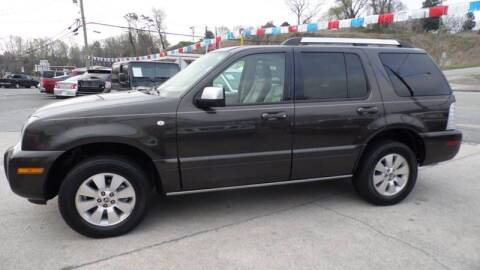 2006 Mercury Mountaineer for sale at G AND J MOTORS in Elkin NC