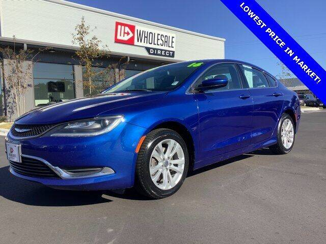 2016 Chrysler 200 for sale at Wholesale Direct in Wilmington NC