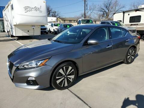 2020 Nissan Altima for sale at Kell Auto Sales, Inc in Wichita Falls TX