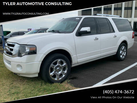 2014 Ford Expedition EL for sale at TYLER AUTOMOTIVE CONSULTING in Yukon OK