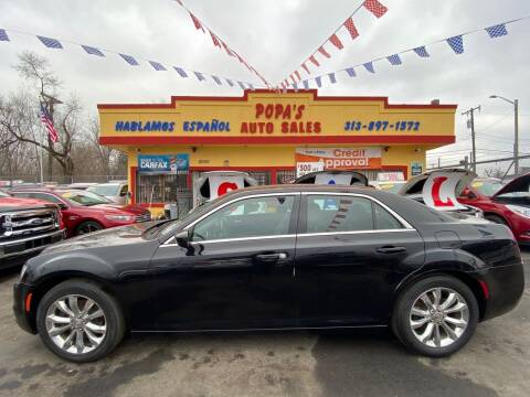 2016 Chrysler 300 for sale at Popas Auto Sales in Detroit MI