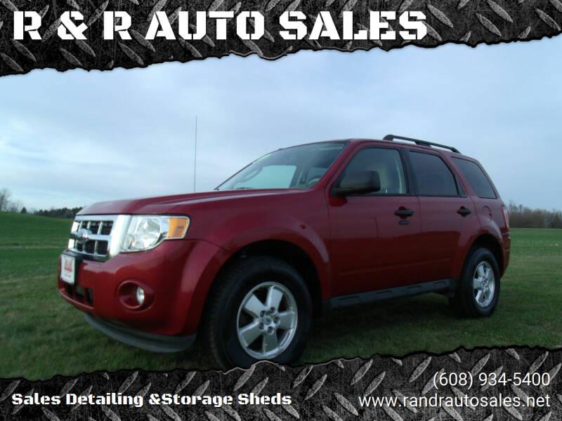 2011 Ford Escape for sale at R & R AUTO SALES in Juda WI