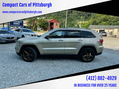 2011 Jeep Grand Cherokee for sale at Compact Cars of Pittsburgh in Pittsburgh PA