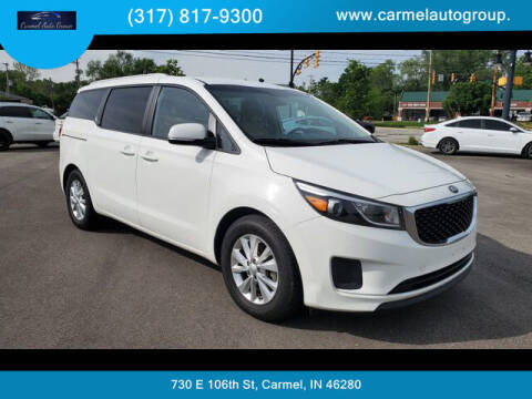 2016 Kia Sedona for sale at Carmel Auto Group in Indianapolis IN