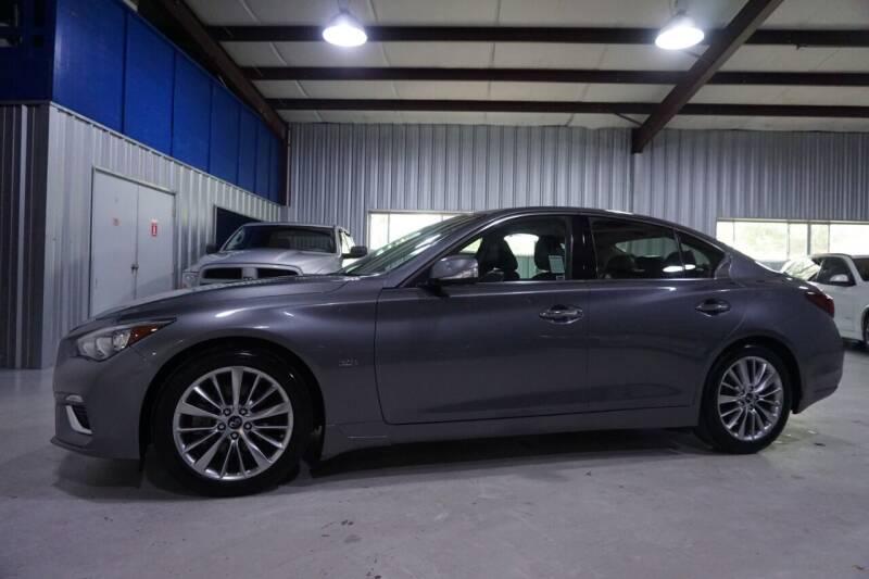 2018 Infiniti Q50 for sale at SOUTHWEST AUTO CENTER INC in Houston TX