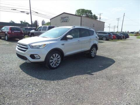 2017 Ford Escape for sale at Terrys Auto Sales in Somerset PA