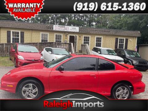 2001 Pontiac Sunfire for sale at Raleigh Imports in Raleigh NC
