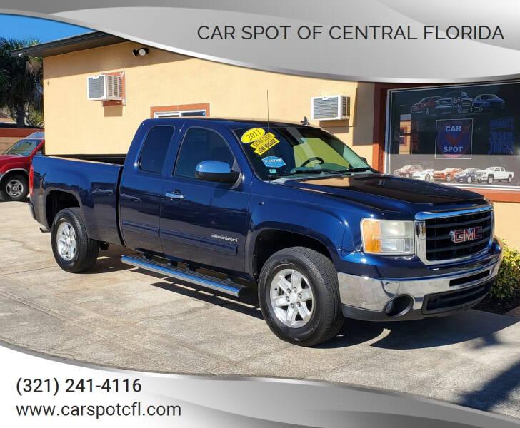 2011 GMC Sierra 1500 for sale at Car Spot Of Central Florida in Melbourne FL