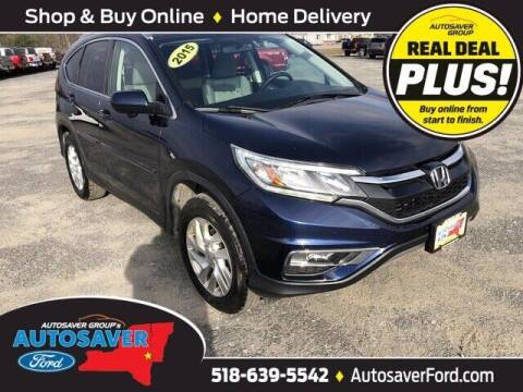 2015 Honda CR-V for sale at Autosaver Ford in Comstock NY