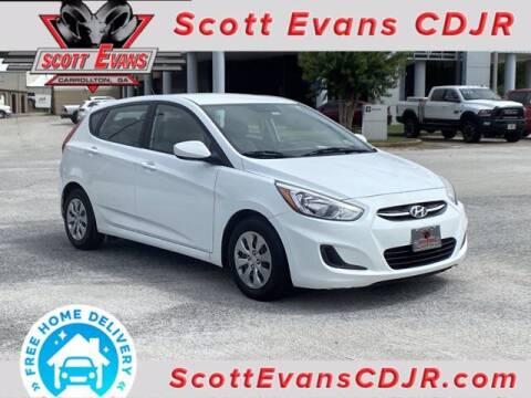 2016 Hyundai Accent for sale at SCOTT EVANS CHRYSLER DODGE in Carrollton GA