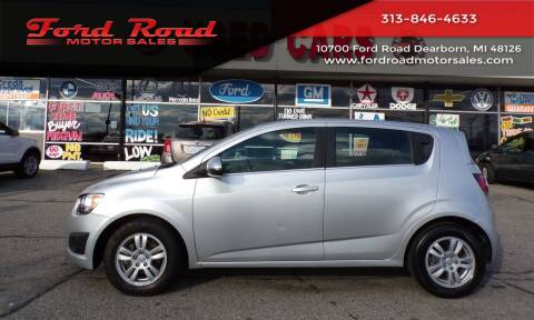 2014 Chevrolet Sonic for sale at Ford Road Motor Sales in Dearborn MI