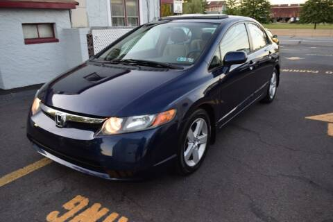 2006 Honda Civic for sale at L&J AUTO SALES in Birdsboro PA