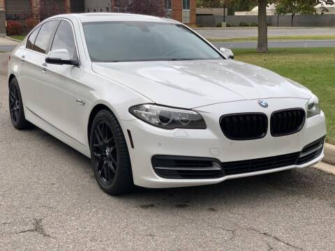 2014 BMW 5 Series for sale at A.I. Monroe Auto Sales in Bountiful UT
