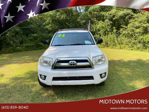 2006 Toyota 4Runner for sale at Midtown Motors in Greenbrier TN