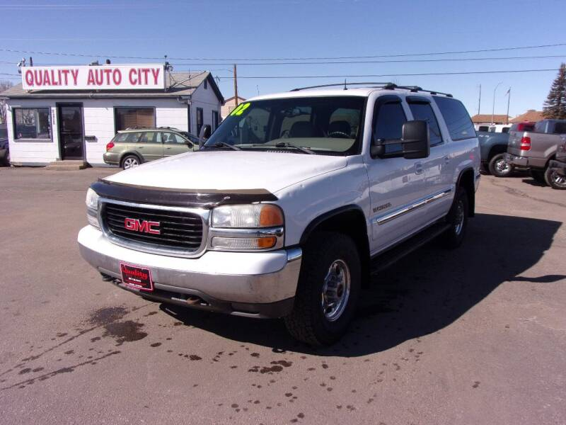 2002 GMC Yukon XL for sale at Quality Auto City Inc. in Laramie WY