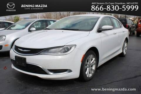 2016 Chrysler 200 for sale at Bening Mazda in Cape Girardeau MO