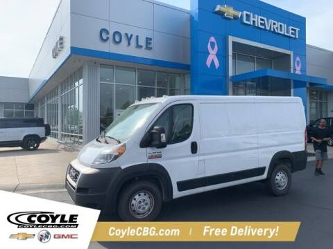 2019 RAM ProMaster Cargo for sale at COYLE GM - COYLE NISSAN - New Inventory in Clarksville IN