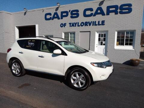 2010 Nissan Murano for sale at Caps Cars Of Taylorville in Taylorville IL