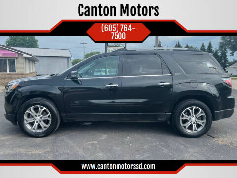 2014 GMC Acadia for sale at Canton Motors in Canton SD