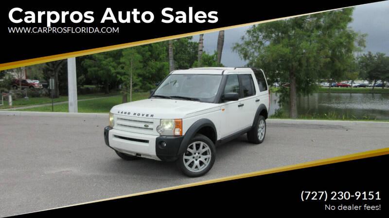 2005 Land Rover LR3 for sale at Carpros Auto Sales in Largo FL